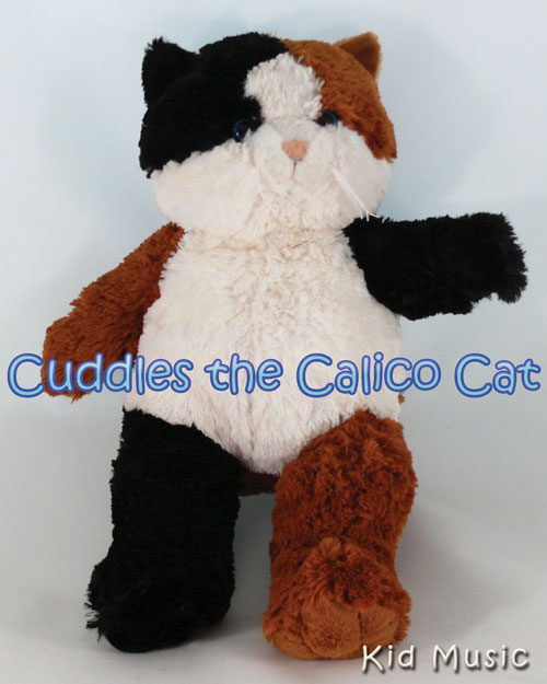 Cuddles the Calico Cat Personalized Stuffed Animal
