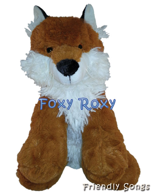 Roxy the Fox Personalized Stuffed Animal