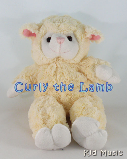 Curly the Lamb Personalized Stuffed Animal