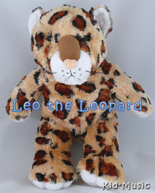 Leo the Leopard Personalized Stuffed Animal