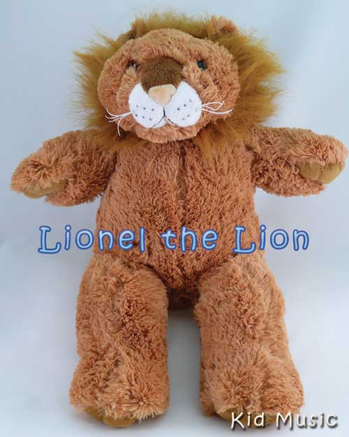 Lionel the Lion Personalized Stuffed Animal