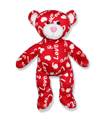 Lovey the Love Bear Personalized Stuffed Animal