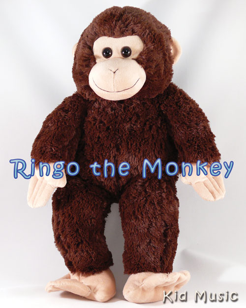 Ringo the Monkey Personalized Stuffed Animal