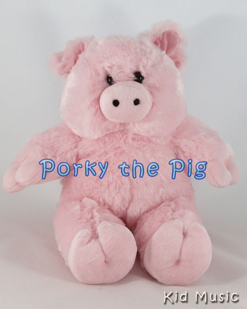 Porky the Pig Personalized Stuffed Animal