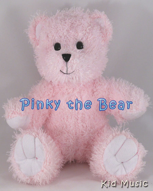 Pinky The Bear Personalized Stuffed Animal