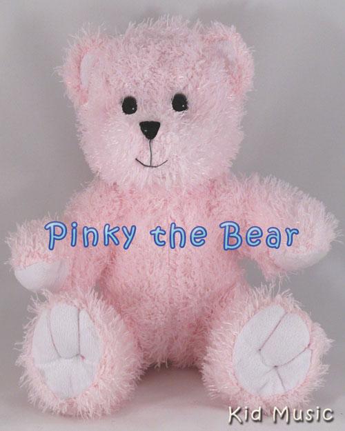 Pinky The Bear Personalized Stuffed Animal