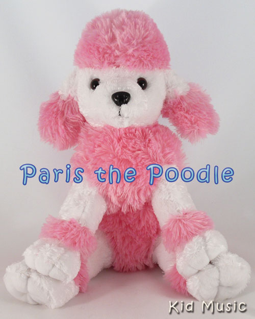 Paris the Poodle Personalized Stuffed Animal