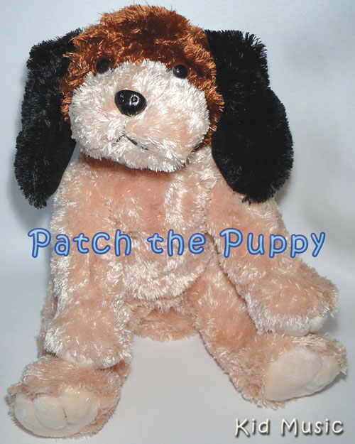 Patch the Puppy Personalized Stuffed Animal