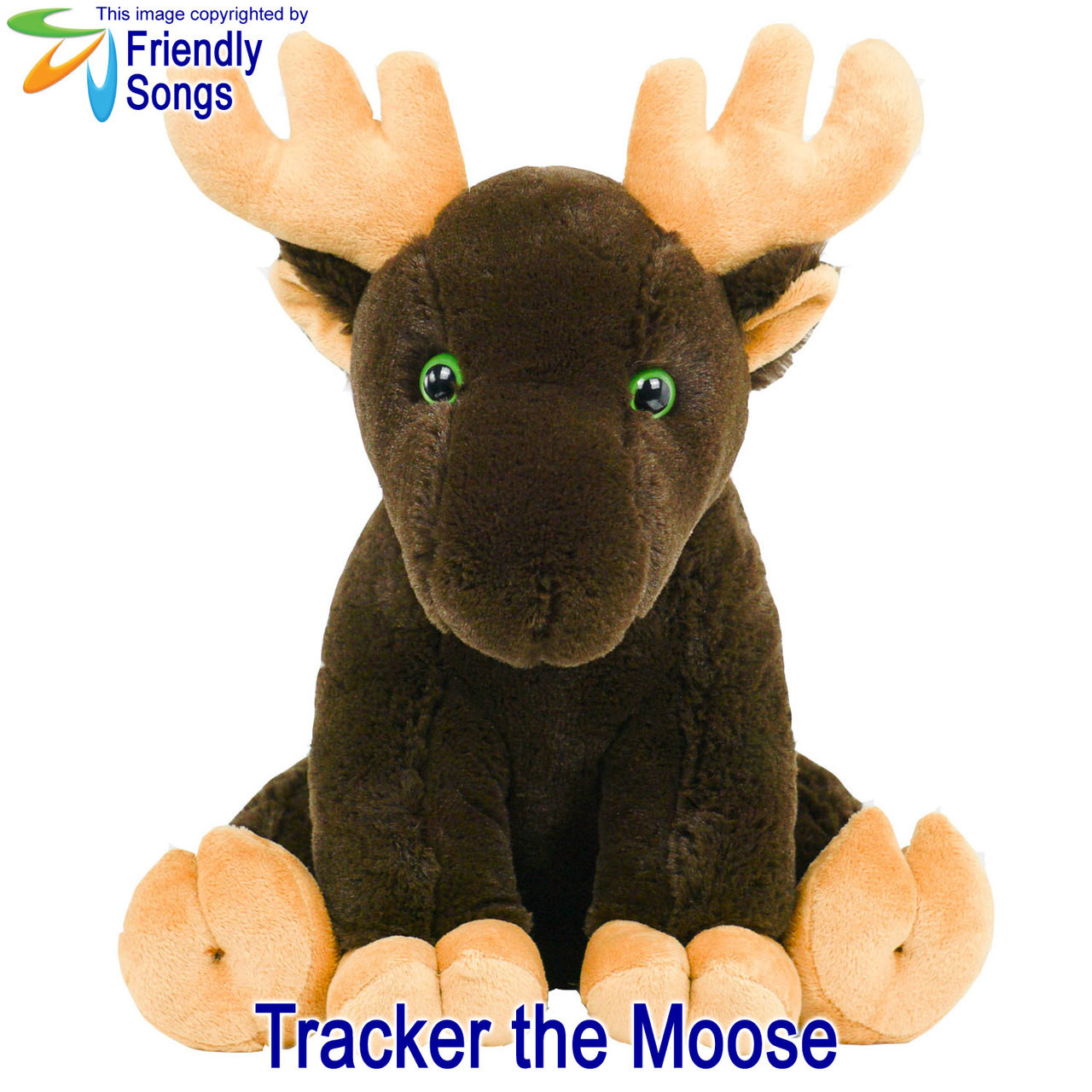 Tracker the Moose Personalized Stuffed Animal