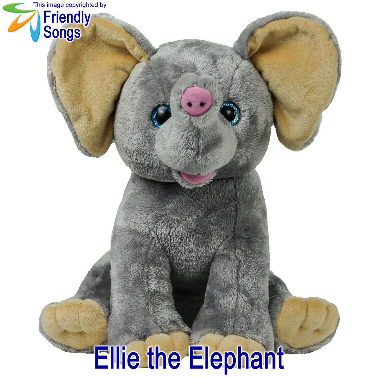 Ellie the Elephant Personalized Stuffed Animal
