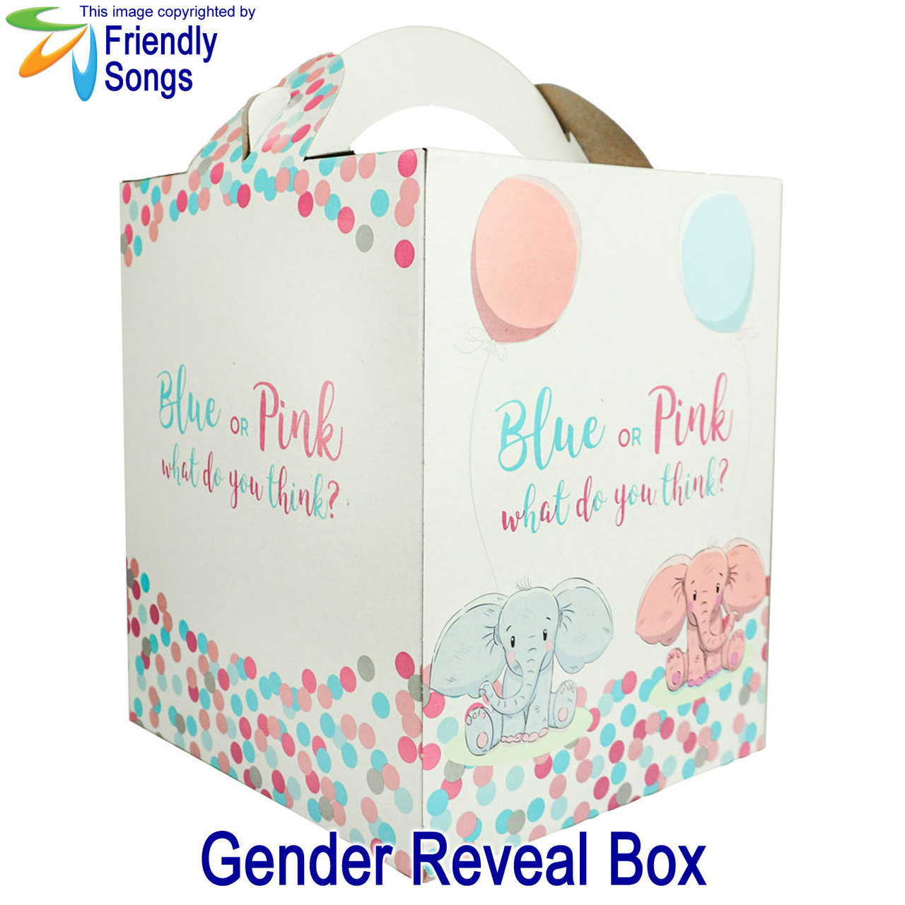 Gender Reveal Box for your Stuffed Animal